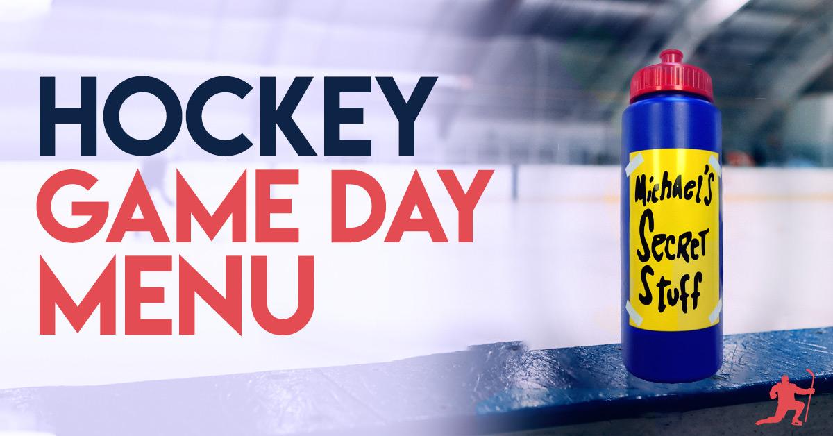 hockey game day eating