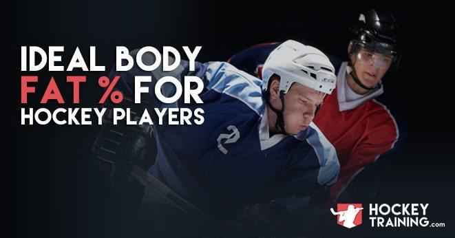 body fat percentage hockey