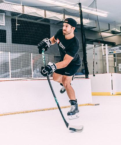 hockey player gift idea (stick)