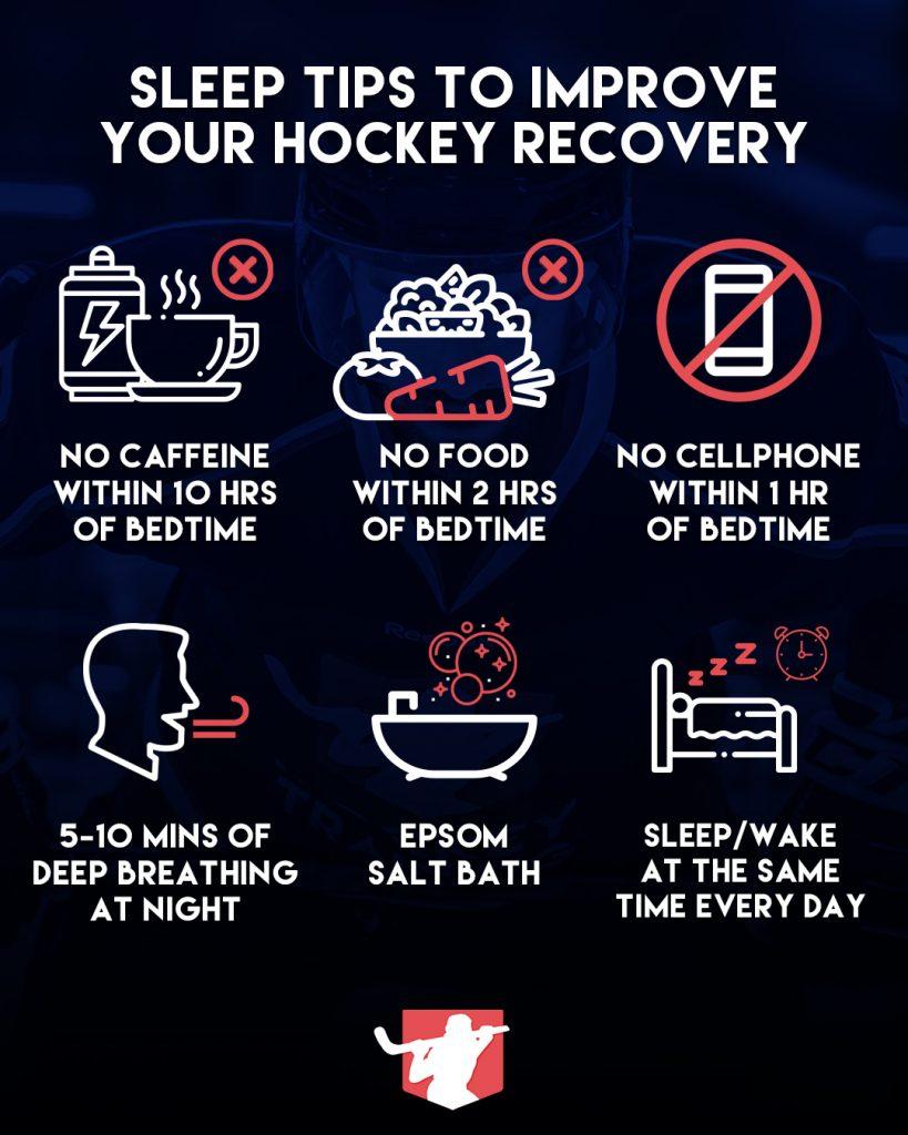 Hockey Sleep Infographic