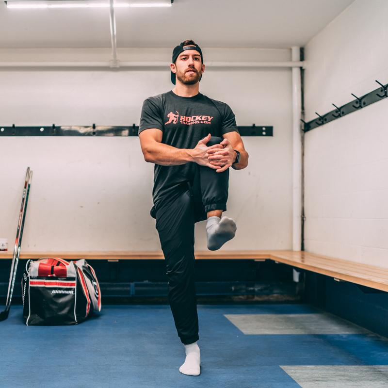 Hockey Stretching