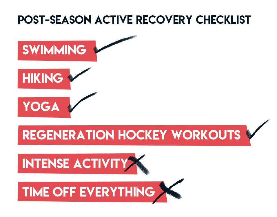 Off-Season Checklist